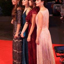 Venezia 2016: Maria Roveran, Marta Gastini, Laura Adriani, Caterina Le Caselle sul red carpet di Questi giorni