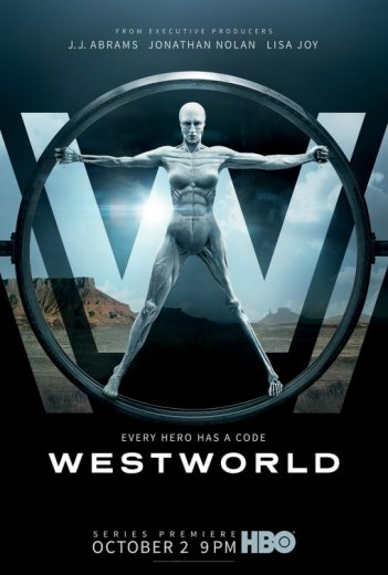 Westworld: il poster della serie