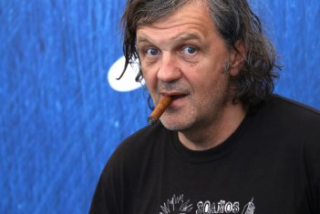 Venezia 2016: Emir Kusturica al photocall di On the Milky Road