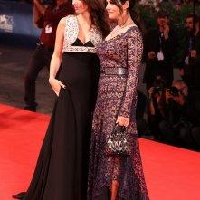 Venezia 2016: Monica Bellucci, Sloboda Mićalović sul tappeto rosso di Sulla via lattea
