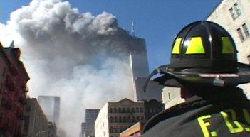 Una immagine del documentario 9/11