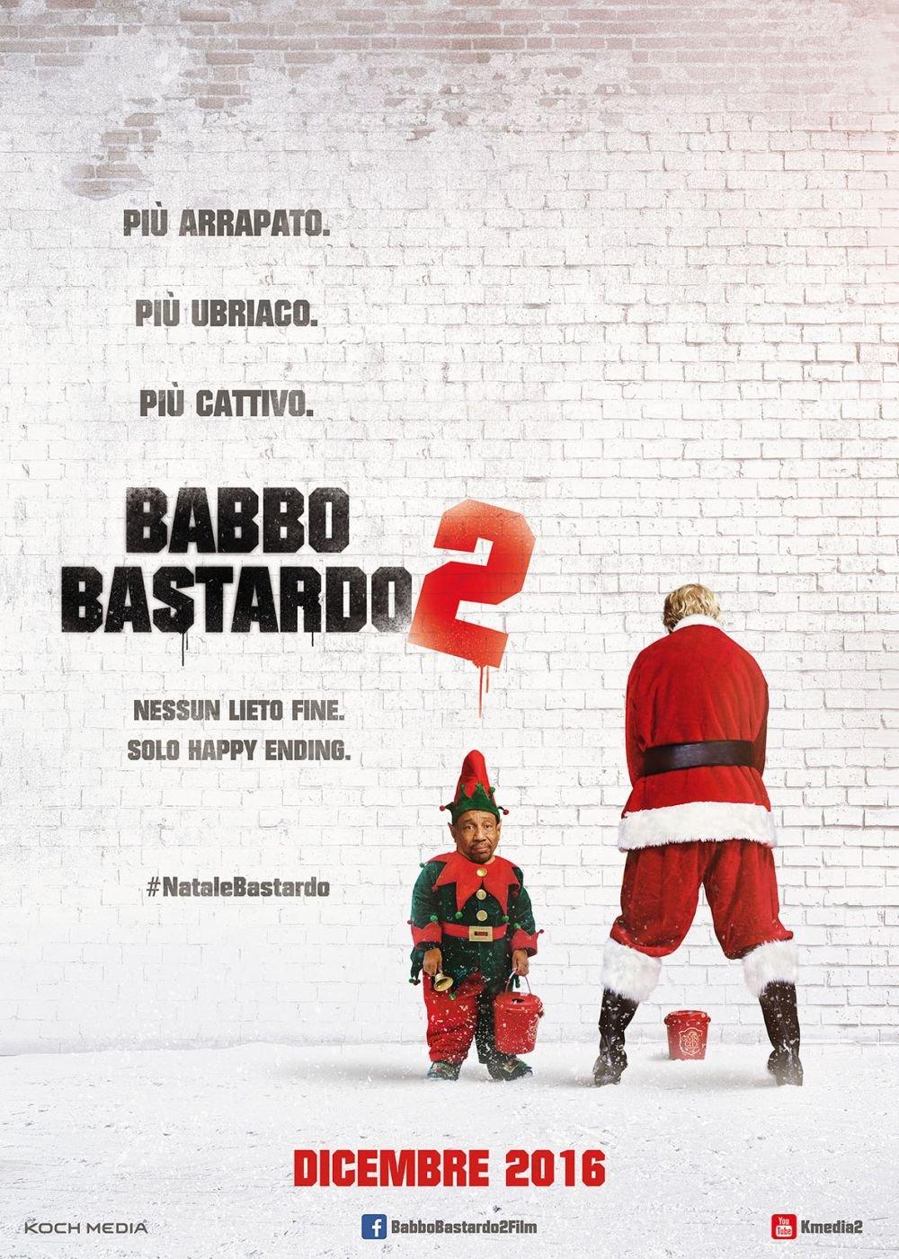 Babbo Bastardo 2 Teaser Poster