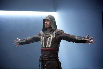 Assassin's Creed: una foto del protagonista Michael Fassbender