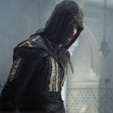 Assassin's Creed: Michael Fassbender in costume