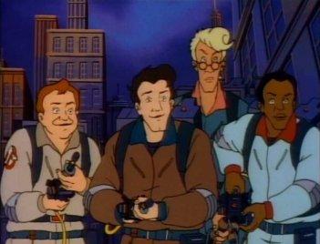 The Real Ghostbusters: un'immagine tratta dalla serie animata