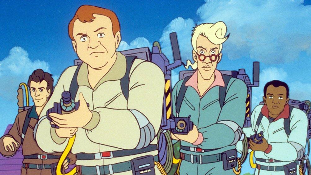 The Real Ghostbusters: un'immagine della serie animata