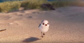 Piper: un momento del nuovo corto animato della Pixar