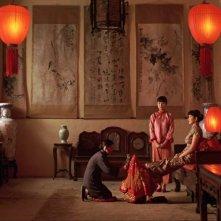 Lanterne rosse: una scena del film