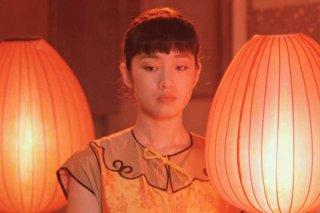 Lanterne rosse: Gong Li in una scena del film