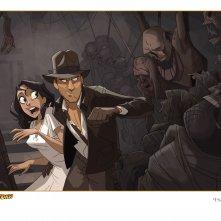 The Adventures of Indiana Jones: la prima immagine del film d'animazione