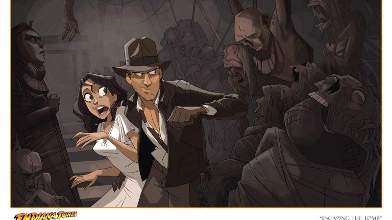 Indiana Jones: in arrivo il film d'animazione di Patrick