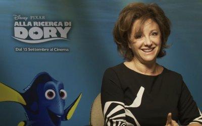 Carla Signoris è di nuovo Dory: l'attrice saluta gli spettatori di Alla ricerca di Dory