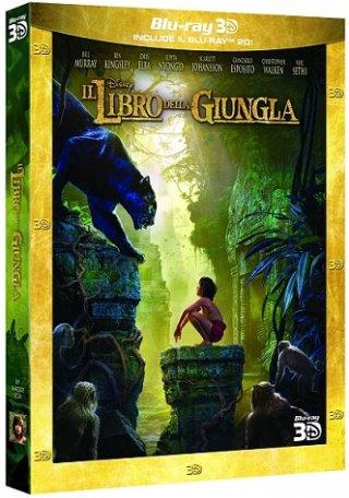 La cover del blu-ray 3D de Il libro della giungla