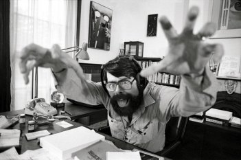 Una foto buffa di Stephen King