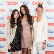 Alex & Co: le attrici Eleonora Gaggero, Beatrice Vendramin e Miriam Dossena