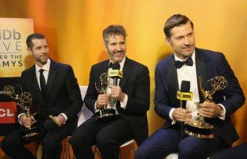 Emmy 2016: gli showrunner de Il trono di spade con i loro premi