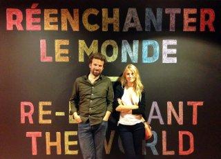 Domani: Mélanie Laurent e Cyril Dion in un'immagine promozionale