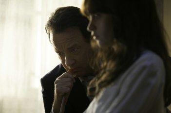 Inferno: Tom Hanks e Felicity Jones in un'immagine tratta dal film