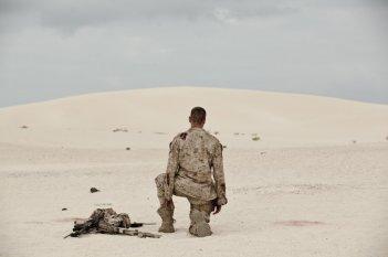 Mine: Armie Hammer in una scena del film