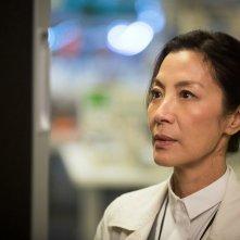 Morgan: Michelle Yeoh in una scena del film