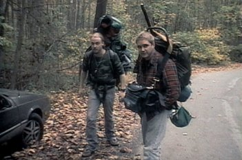 The Blair Witch Project: una scena del film