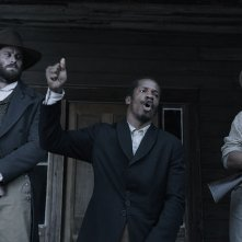 The Birth of a Nation: Nate Parker in una scena del film