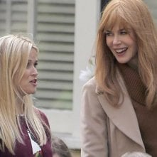 Big Little Lies: Nicole Kidman e Reese Witherspoon sul set della serie tv