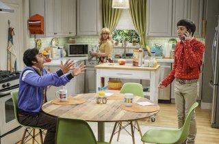 The Big Bang Theory: Kunal Nayyar, Melissa Rauch e Simon Helberg nella première della decima stagione