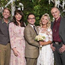 The Big Bang Theory: una delle foto delle nozze mostrate in The Conjugal Conjecture