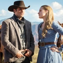 Westworld: James Marsden ed Evan Rachel Wood
