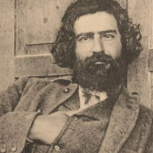 Giovanni Segantini - Magia della luce: una foto d'epoca che ritrae Segantini