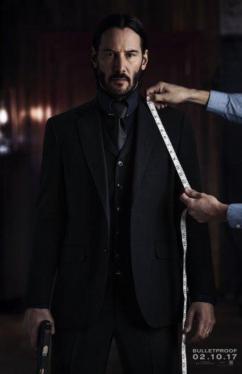 John Wick 2: il poster del film con Keanu Reeves