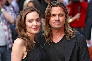 Angelina Jolie e Brad Pitt ad un evento