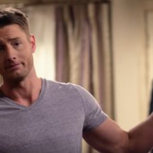 This is Us: una foto dell'attore Justin Hartley