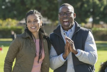 This is Us: Susan Kelechi Watson e Sterling K. Brown in una foto del pilot