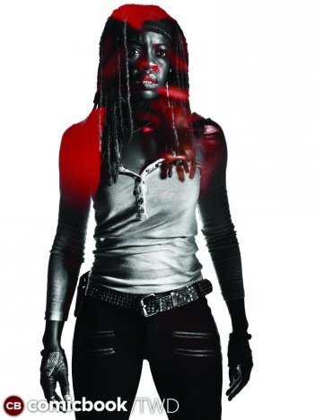 The Walking Dead: un ritratto di Michonne