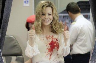 Heartbeat: Melissa George in una scena della serie