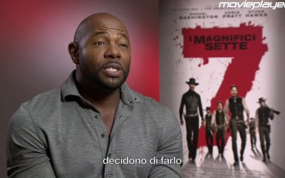I magnifici 7: video intervista a Antoine Fuqua