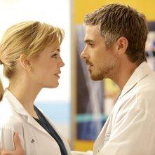 Heartbeat: Dave Annable e Melissa George in una scena della serie