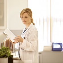 Heartbeat: Melissa George in una scena della serie NBC