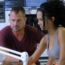 MacGyver: George Eads accanto a Tristin Mays nell'episodio The Rising