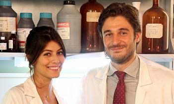 L'Allieva: Lino Guanciale e Alessandra Mastronardi in una foto della serie Rai