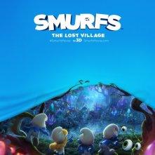 Locandina di Smurfs: The Lost Village