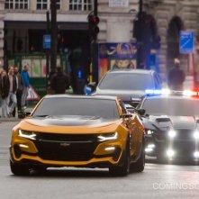 Transformers: The Last Knight  - Auto in azione a Londra