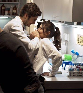 L'Allieva: Lino Guanciale e Alessandra Mastronardi sul set