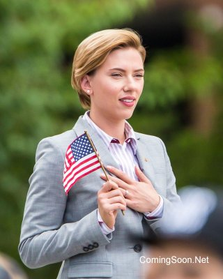 Rock That Body: Scarlett Johansson sul set