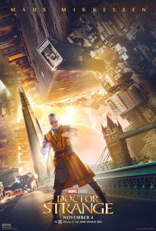 Doctor Strange: il character poster di Mads Mikkelsen