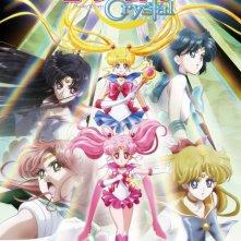Sailor Moon Crystal: la locandina della serie