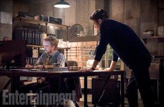 The Flash 3: Tom Felton a confronto con Grant Gustin