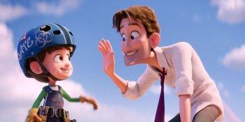 Cicogne in missione: una scena tratta dal film animato